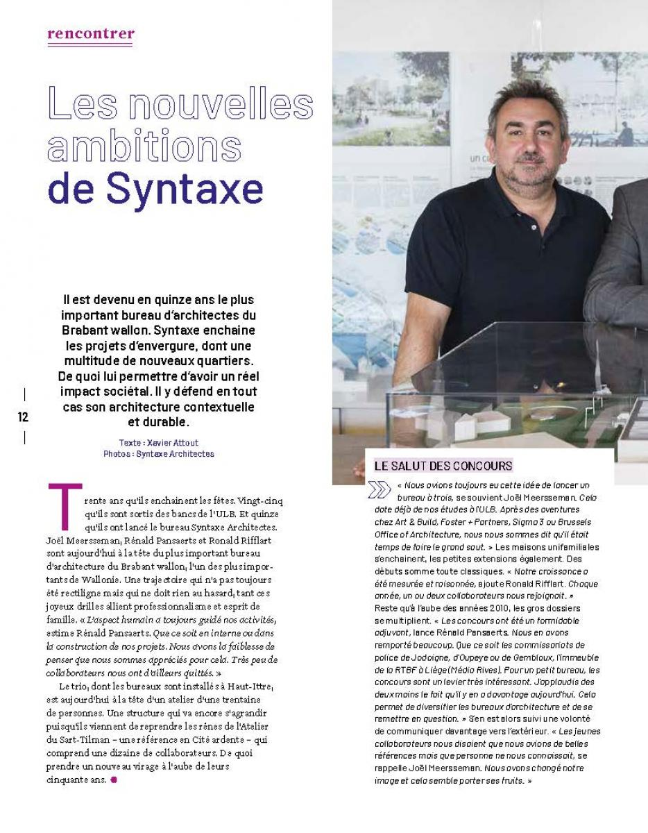 Un portrait de Syntaxe dans la presse | Press
